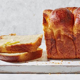 Classic Brioche Loaf.