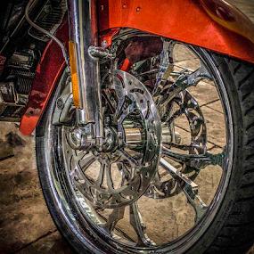 Big 21  by Anthony Balzarini - Transportation Motorcycles ( #harley #motorcyclephotography #customrims # motorcycleart #phtography,  )
