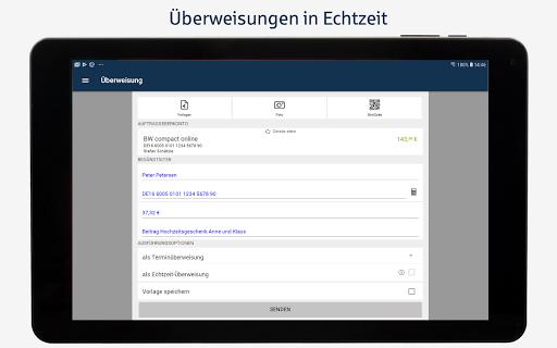 BW-Mobilbanking mit Smartphone und Tablet  screenshots 9