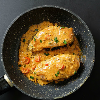 Easy Peri Peri Sauce Coated Chicken.