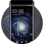 Space galaxy theme ad08 wallpaper ios8 iphone6 APK icon