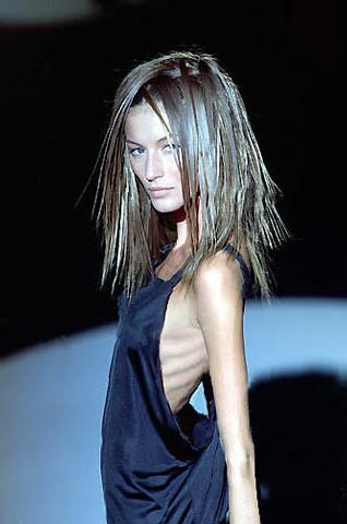 catwalk hairstyle