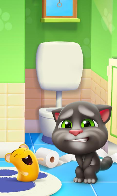 Screenshot 2 My Talking Tom 2 1.0.2001.25 APK MOD