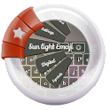 Sun light GO Keyboard icon