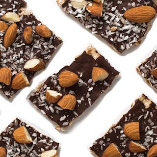 Kosher Chocolate Covered Matzo Bark.