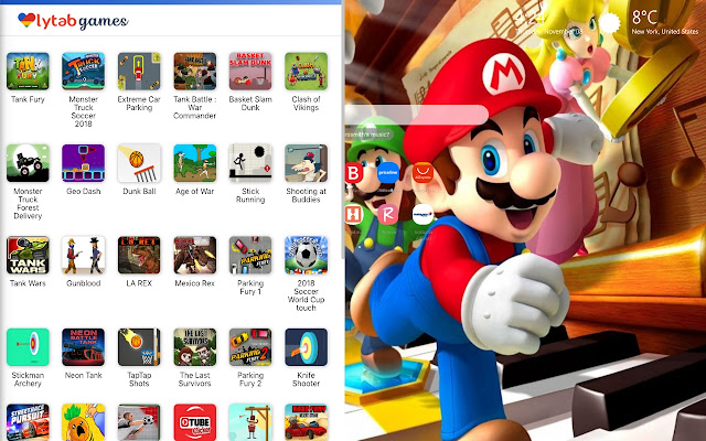 Super Mario Bros Wallpapers Hd New Tab Theme