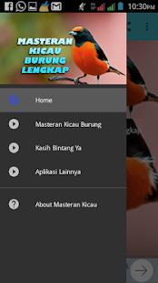 Masteran Kicau Burung Lengkap Screenshot