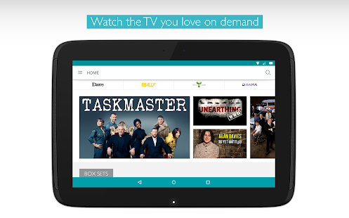UKTV Play - the free on demand TV app.- screenshot thumbnail
