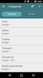 Monthly Budget- screenshot thumbnail