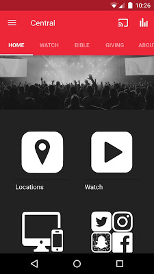 Central Church App - screenshot