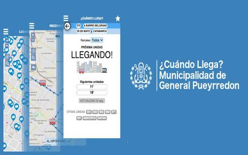¿Cuándo Llega? - MGP app (apk) free download for Android/PC/Windows screenshot