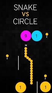 Snake V/s Circle 5