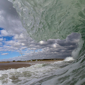 Storm Is Coming by Morgan Grosskreutz - Landscapes Waterscapes ( water, sky, florida, wave, ocean, surf, photography )