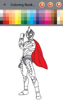 Download Buku Mewarnai Untuk Ultraman Nol Pahlawan Kosmos Apk Latest