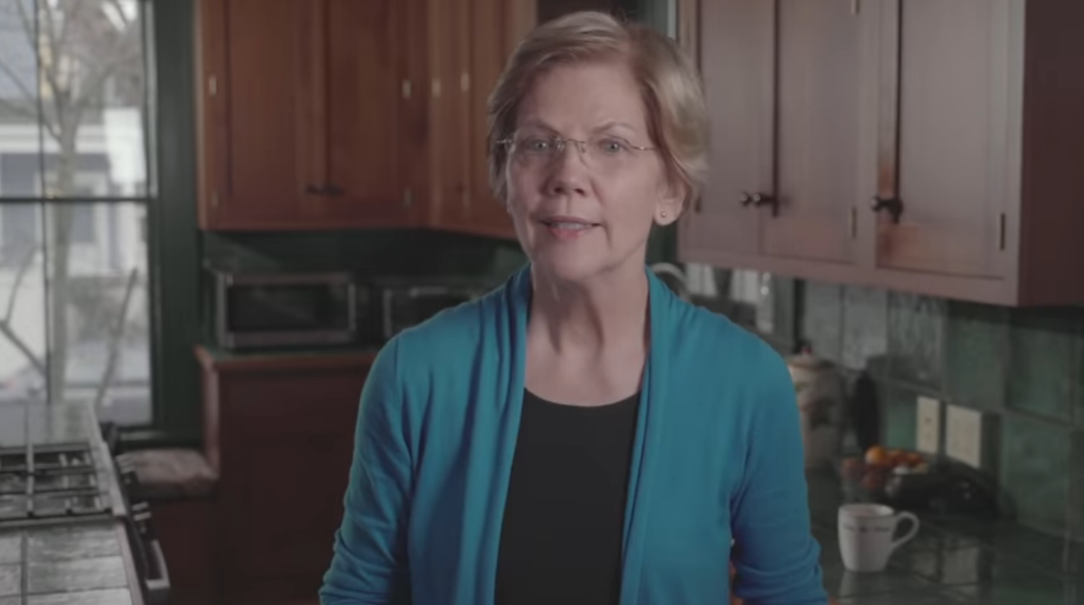 Elizabeth Warren attacks Fox News viewers in presidential announcement video