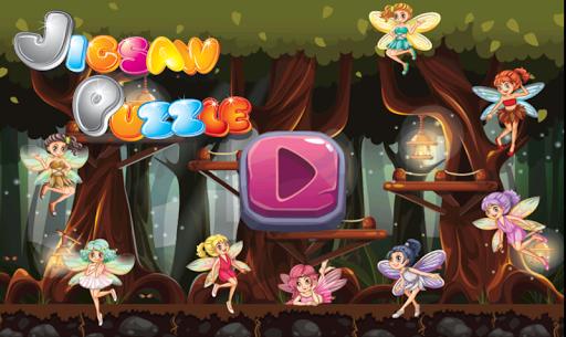Fairy Tales Jigsaw - Angel Kid