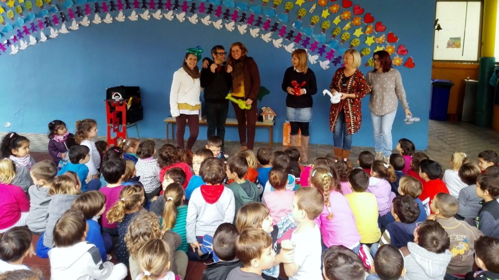 magia y globoflexia para niños en colegios con profesoras 2017