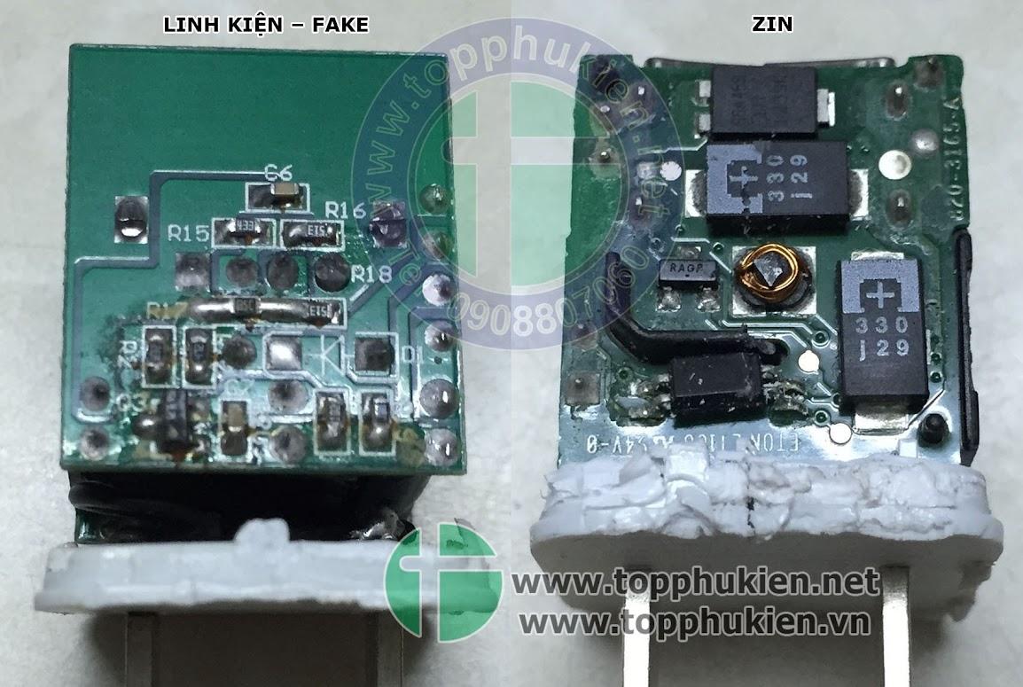 So sánh phụ kiện zin và fake cho iphone ipad - 6