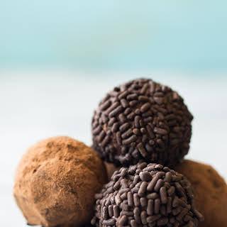 Chocolate Bourbon Truffles.