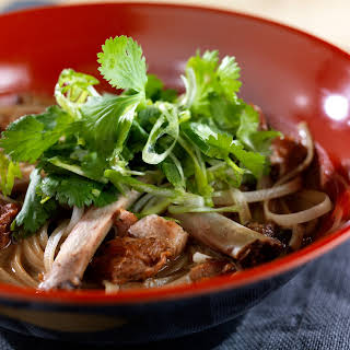 Chinese 5-spice Pork and Noodle Soup.