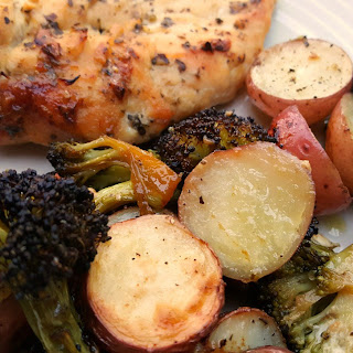 One Pan Chicken & Roasted Vegetables