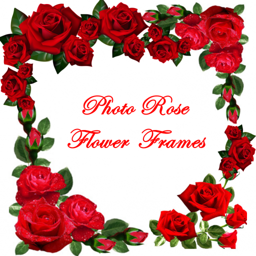 photo rose flower frames screenshot