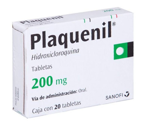 Hidroxicloroquina Plaquenil 200 mg x 20 Tabletas
