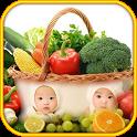 Fruit Vegetable photo frames icon