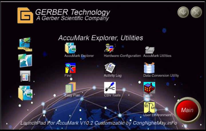 Gerber LaunchPad Giành Cho Accumark V10 6