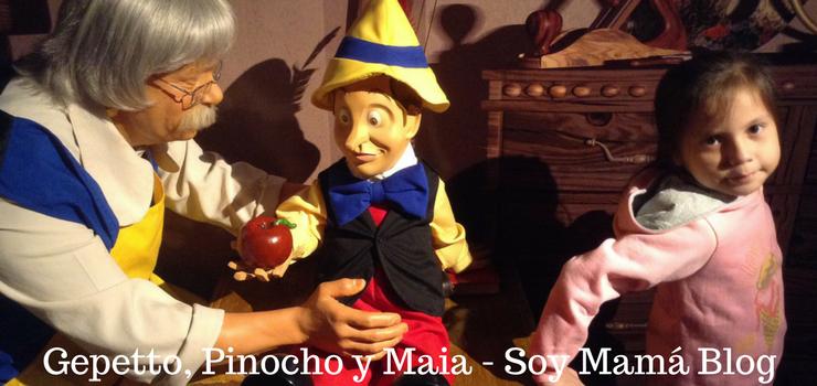 Museo de Cera en Veracruz con niños: Pinocho