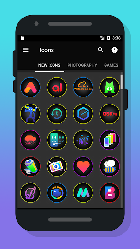 Fixter Icon Pack Aplicaciones para Android screenshot
