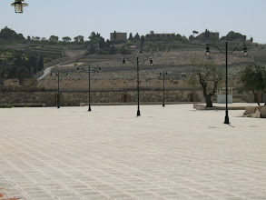 Photo: View from the Temple Mount to the Mount Of Olives.