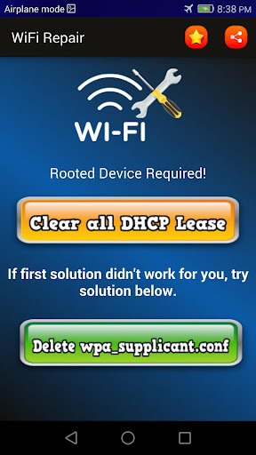 quick wifi fixer (root) screenshot 2
