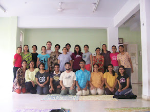 Photo: 1 Month YTT Course - Daniel Fonseca with batch of June 2008 - Group Photo.
