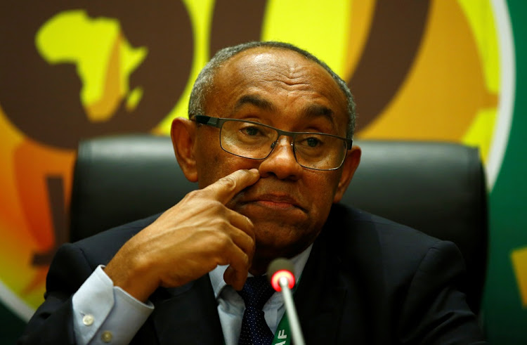 Confederation of African Football president Ahmad Ahmad. Picture: REUTERS