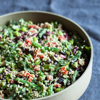 Protein-Packed Black Bean and Kidney Bean Quinoa Salad.
