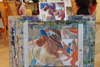 Photo: Мастер класс рисунок пастелью в стиле Дэга