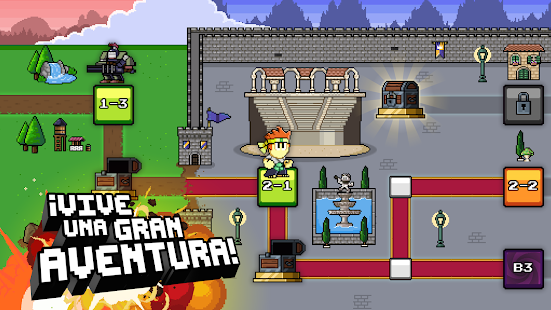 Dan the Man: Action Platformer: miniatura de captura de pantalla