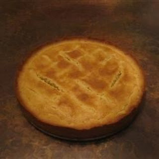Fyrstekake - Norwegian Prince's Cake (Almond tart)