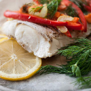 Simple Cod In Parchment