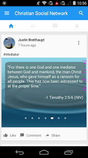 Christian Social Network- screenshot thumbnail