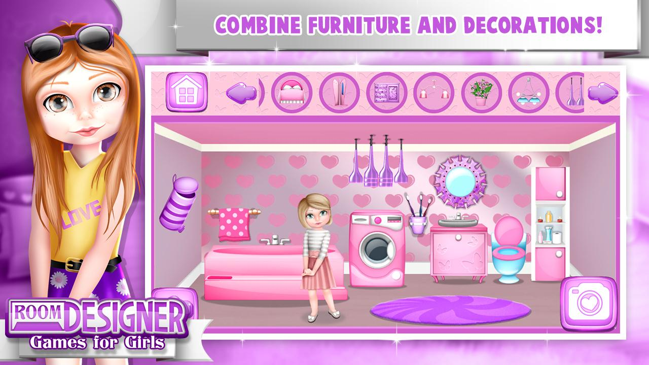 room designer dollhouse games screenshot