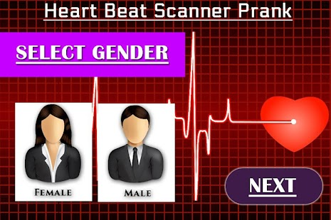 Heart Beat Rate Checker Prank - náhled