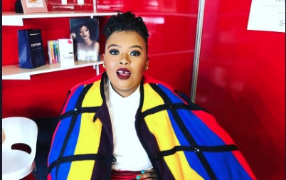 Anele Mdoda has recounted the strange Uber experiences she's had.