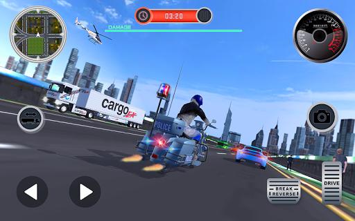 US Police Cyber Truck Car Transporter screenshot 4