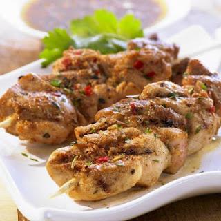 BBQ Chicken Brochettes