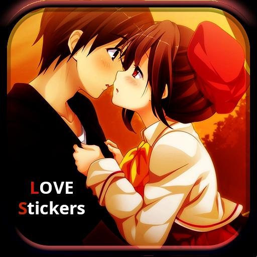 gambar stiker kartun lucu  love stickers aplikasi di google play