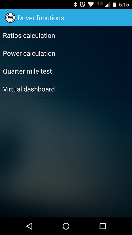 Scanator Android (OBD2)- screenshot