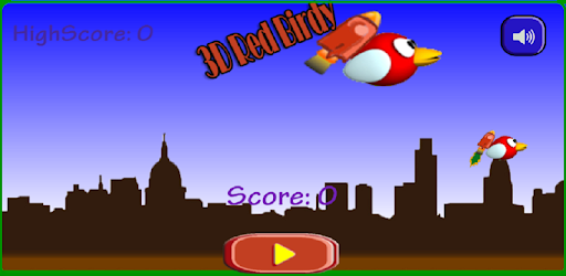 3D Red Birdy: Bird Fly Simulator 2019 1 1 (Android