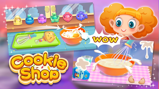 🍪🍪Cookie Shop - Yummy Cooking Game screenshots 1